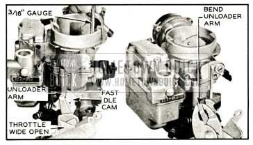 1959 Buick Choke Unloader Adjustment