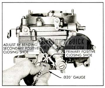 1959 Buick Closing Shoe Adjustment