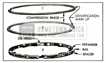 1959 Buick Compression and Oil Rings