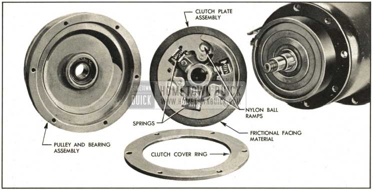 1959 Buick Compressor Clutch and Disc Assembly