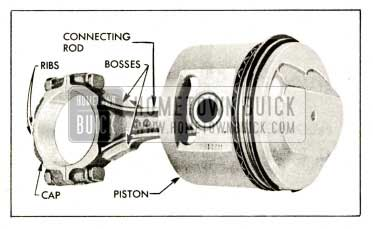 1959 Buick Connecting Rod and Piston Assembly