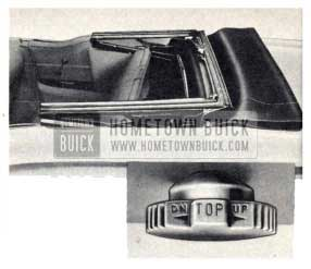 1959 Buick Convertible Top Control