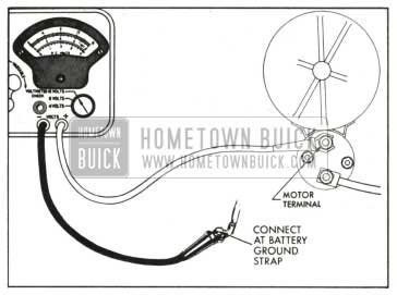 1959 Buick Cranking Voltage Test Connections
