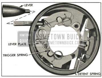 1959 Buick Direction Signal Actuator