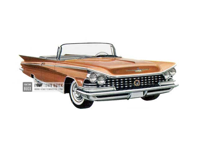 1959 Buick Electra 225 Convertible - Model 4867 HB