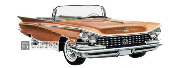 1959 Buick Electra 225 Convertible - Model 4867