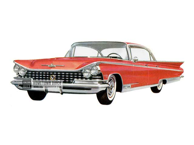 1959 Buick Electra 225 Riviera - Model 4829 HB