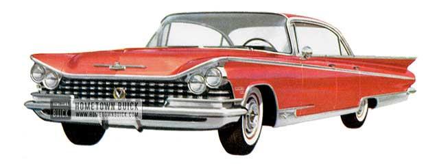 1959 Buick Electra 225 Riviera - Model 4829