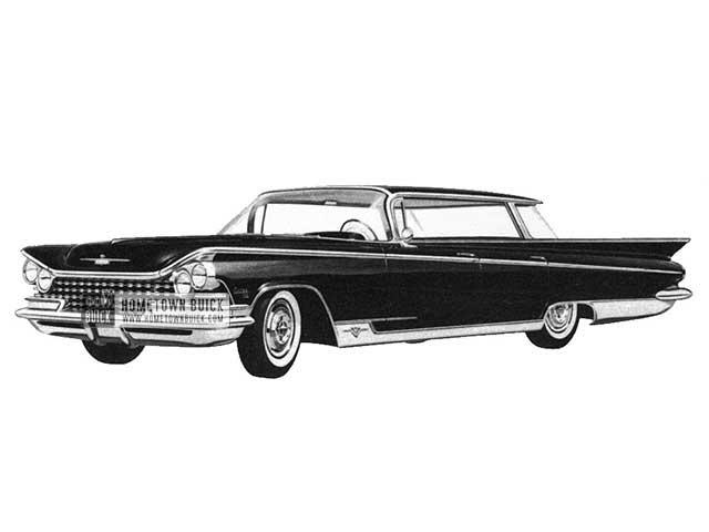 1959 Buick Electra Hardtop Sedan - Model 4839 HB