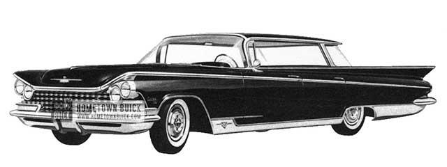 1959 Buick Electra Hardtop Sedan - Model 4839