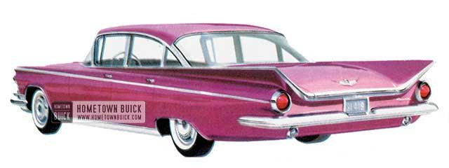 1959 Buick Electra Sedan - Model 4719