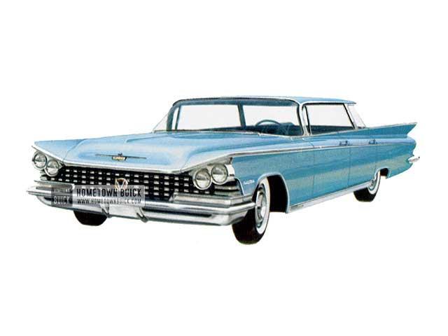 1959 Buick Electra Sedan - Model 4739 HB