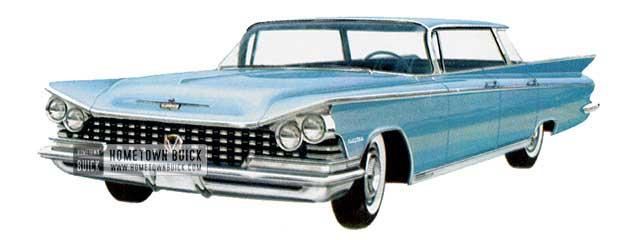 1959 Buick Electra Sedan - Model 4739