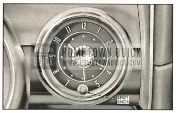 1959 Buick Electric Clock Reset Knob