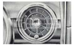 1959 Buick Electric Clock