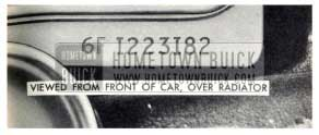 1959 Buick Engine Number Location