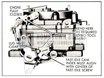 1959 Buick Fast Idle Cam Adjustment