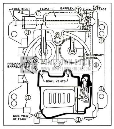 1959 Buick Carter 4 Barrel Carburetor