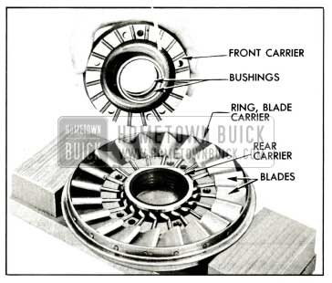 1959 Buick Front of Stator Assembly