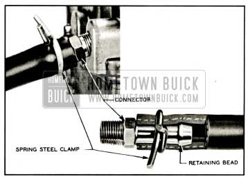 1959 Buick Fuel Lines and Clamps