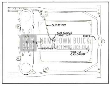 1959 Buick Fuel Tank