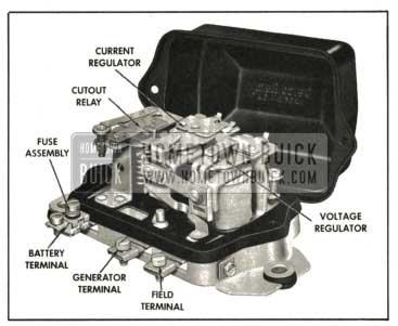 1959 Buick Generator Regulator-Air Conditioned Car