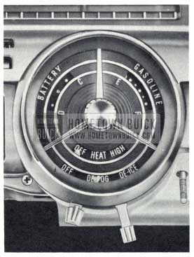 1959 Buick Heater and Defroster Controls