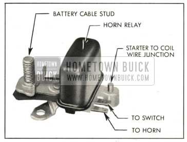 1959 Buick Horn Relay and Junction Block Assembly
