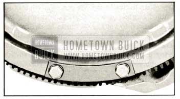 1959 Buick Installation of Balance Weight