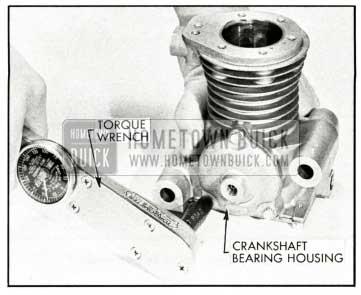 1959 Buick Installing Bearing Housing