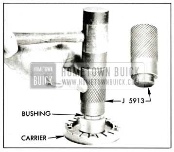 1959 Buick Installing Bushing in Blade Carrier