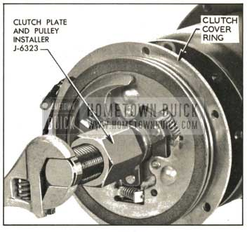 1959 Buick Installing Clutch Plates