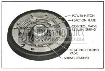 1959 Buick Installing Control Valve Spring and Small Reaction Plate