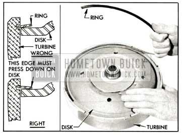 1959 Buick Installing Disk Retaining Ring