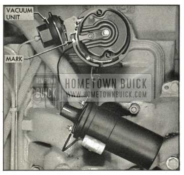 1959 Buick Installing Distributor in Engine