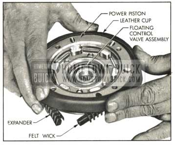 1959 Buick Installing Leather Piston Cup