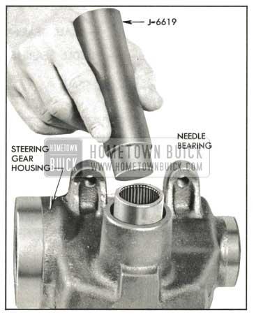 1959 Buick Installing Needle Bearing