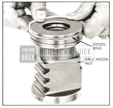 1959 Buick Installing Piston Ring on Rack-Piston Nut