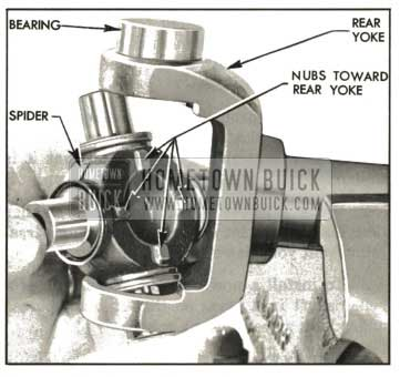 1959 Buick Installing Spider In Rear Yoke