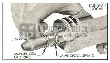 1959 Buick Installing Valve Spool Spring