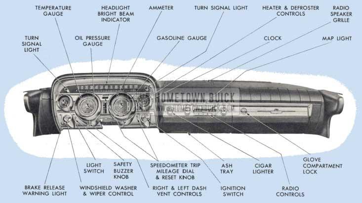 1959 Buick Instrument Panel