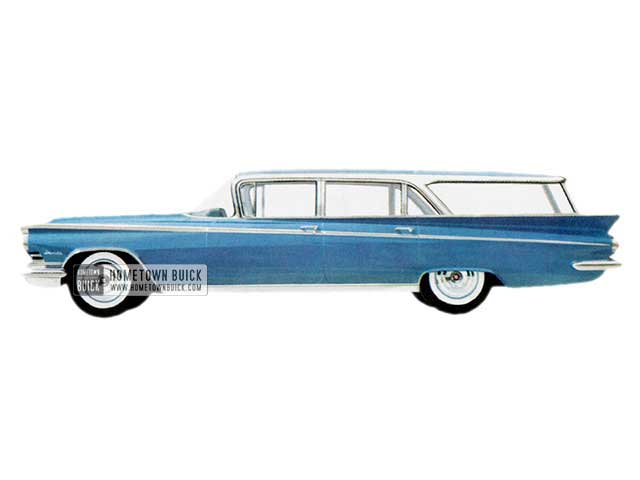 1959 Buick Invicta Estate Wagon - Model 4635 HB