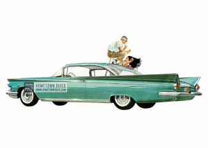 1959 Buick Invicta Hardtop Coupe - Model 4637 HB