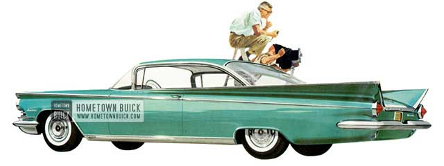 1959 Buick Invicta Hardtop Coupe - Model 4637