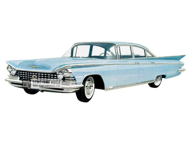 1959 Buick Invicta Sedan - Model 4619 HB