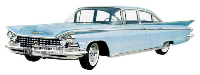 1959 Buick Invicta Sedan - Model 4619