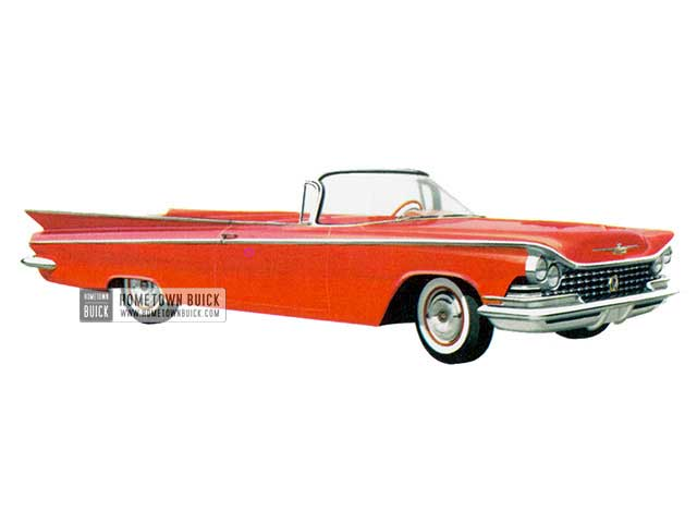 1959 Buick Le Sabre Convertible - Model 4467 HB