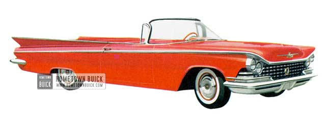 1959 Buick Le Sabre Convertible - Model 4467