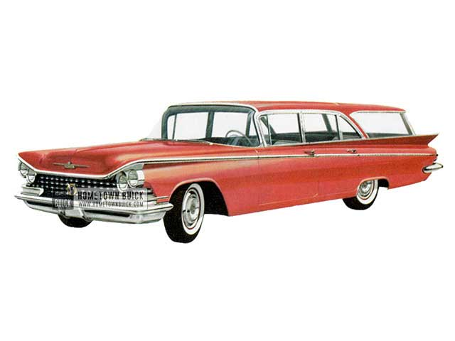 1959 Buick Le Sabre Estate Wagon - Model 4435 HB