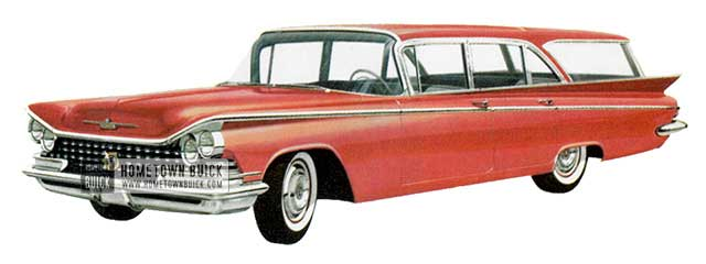 1959 Buick Le Sabre Estate Wagon - Model 4435